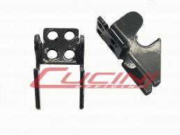 Supporto Cerniera Sponda posteriore Ribaltabile Cucini