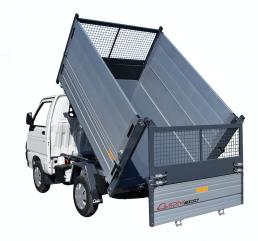 sovrasponde rete e alluminio piaggio porter