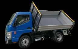 Mitsubishi Fuso ribaltabile trilaterale